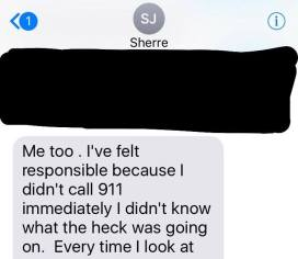 Sherre email about calling 911